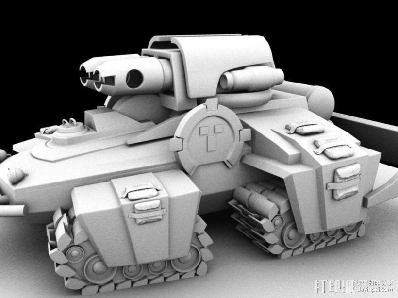 机械战场 3D模型  图2