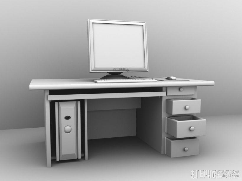 台式电脑 3D模型  图2