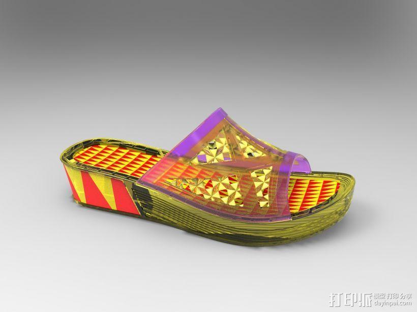 拖鞋效果图 3D模型  图3