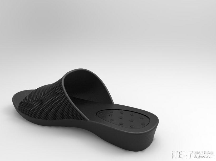 拖鞋效果图 3D模型  图4