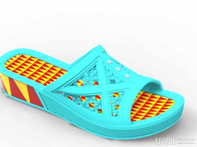 拖鞋效果图 3D模型  图5