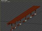 单个凉亭 3D模型 图1