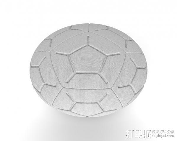 NIKE 12P 高频球 3D模型  图3