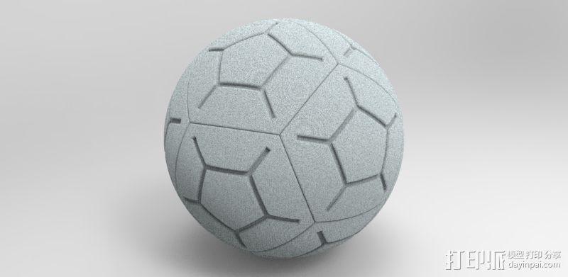 NIKE 12P 高频球 3D模型  图1
