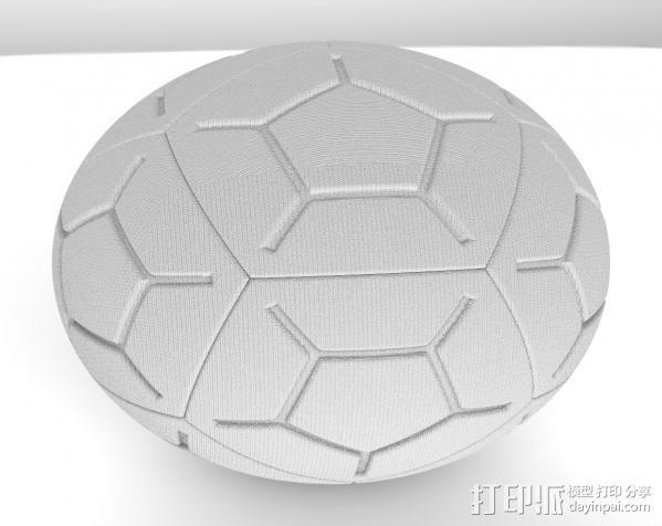 NIKE 12P 高频球 3D模型  图2
