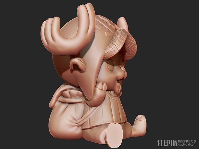 《海贼王》——托尼·托尼·乔巴 3D模型  图2