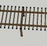 亭廊架 3D模型 图2