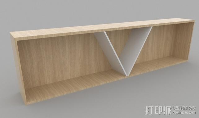 吊柜 3D模型  图1
