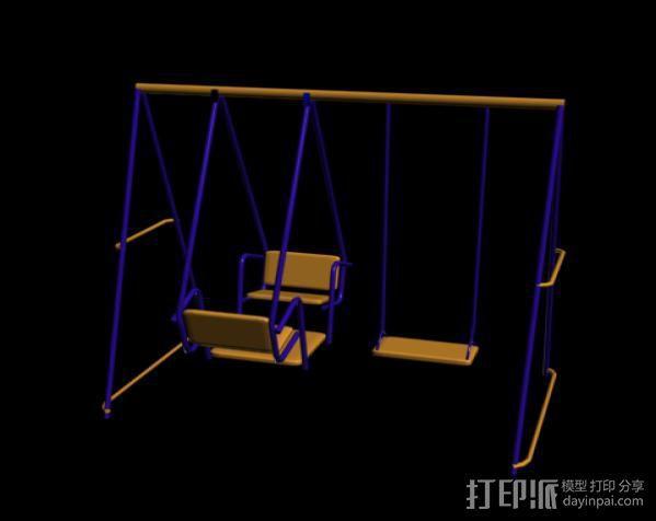 健身器 3D模型  图1