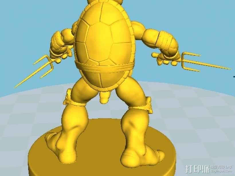 漫画版忍者神龟拉菲尔 3D模型  图6