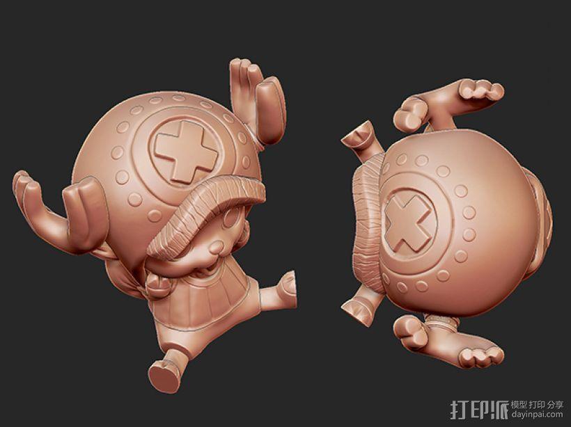 《海贼王》——托尼·托尼·乔巴 3D模型  图8