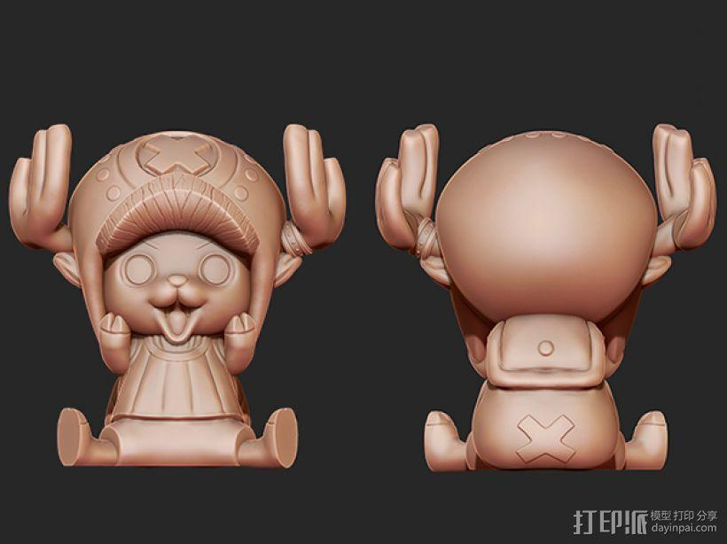 《海贼王》——托尼·托尼·乔巴 3D模型  图7