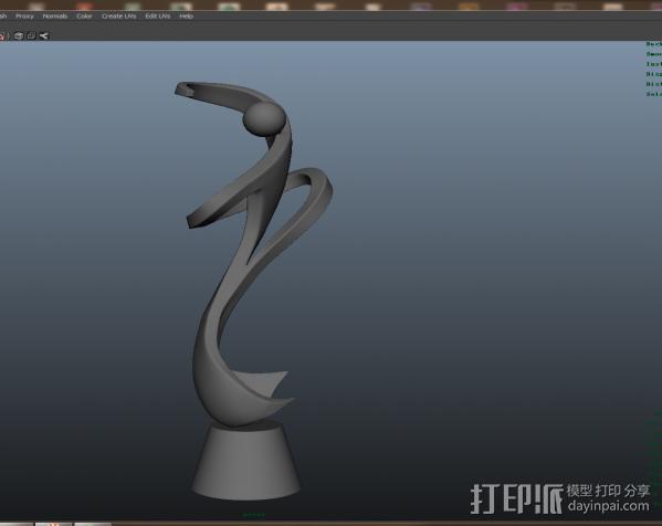 艺术品 3D模型  图3