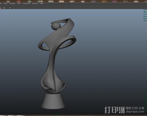 艺术品 3D模型  图2