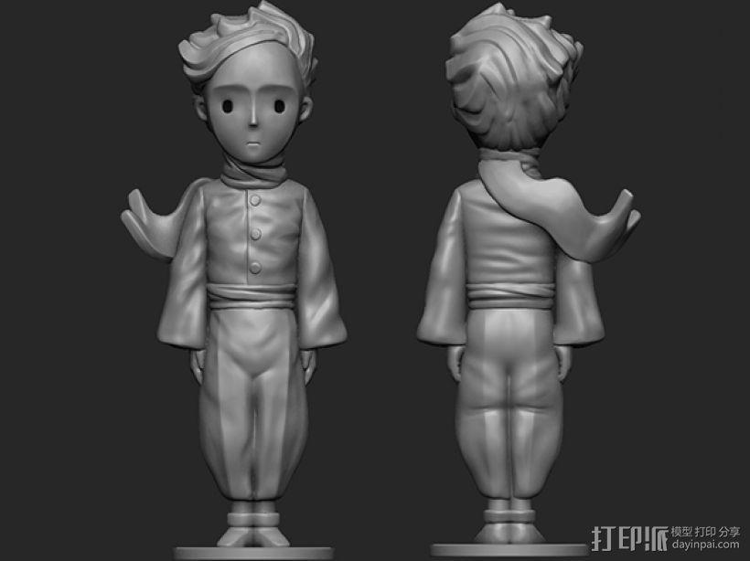 《小王子》 3D模型  图1