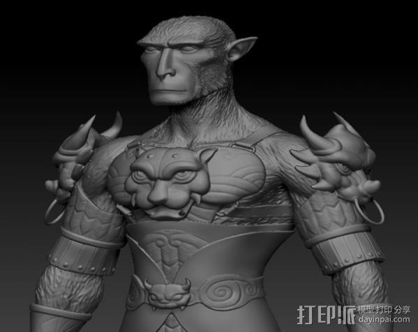 大圣孙悟空 3D模型  图2