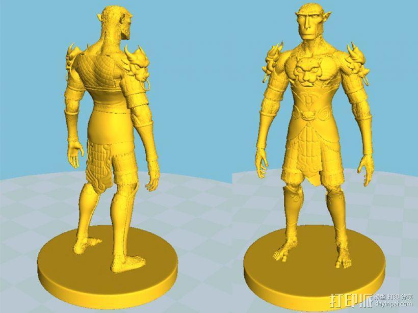 大圣孙悟空 3D模型  图5