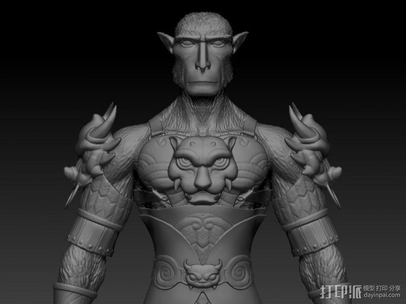 大圣孙悟空 3D模型  图1