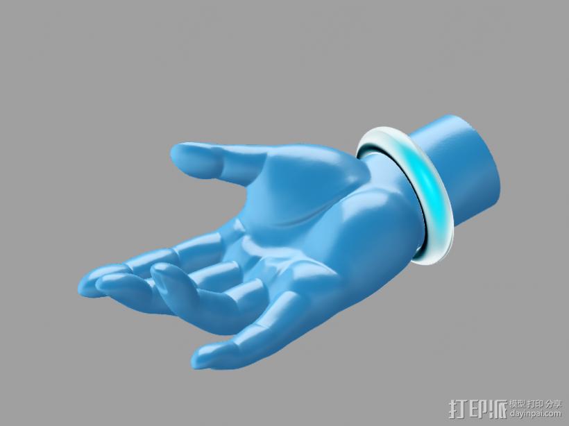 高精度的 佛手 3D模型  图2