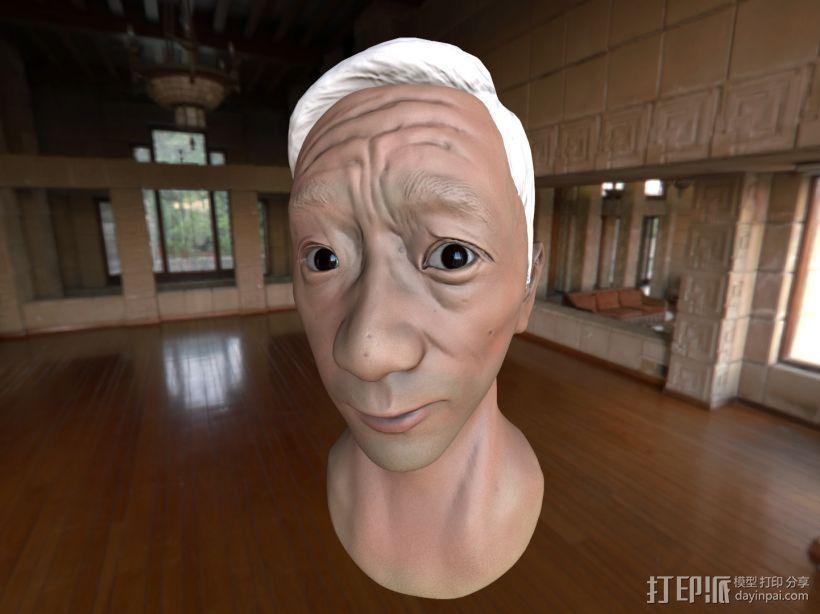 写实肖像模型 3D模型  图1