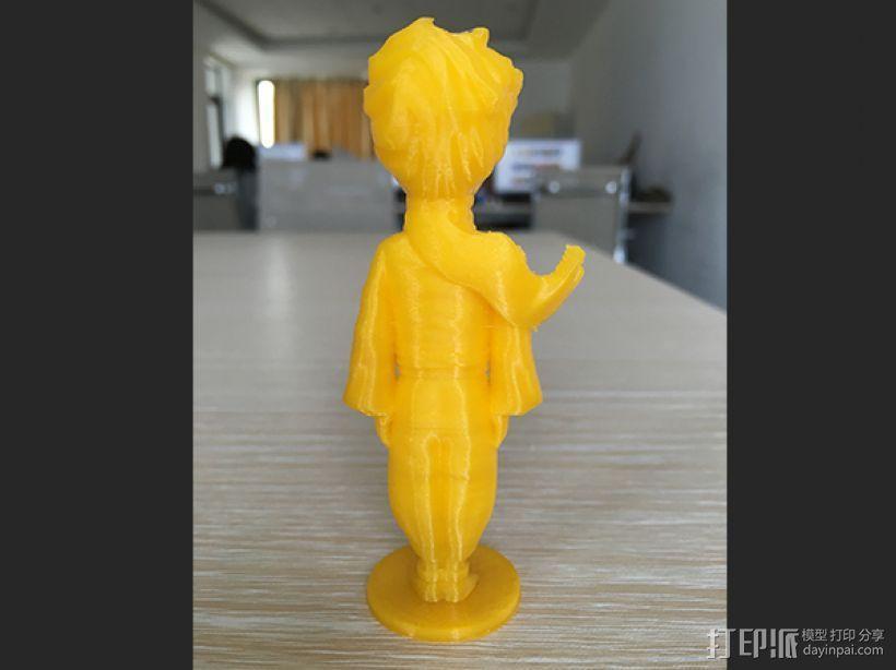 小王子——打印实物图 3D打印制作  图2