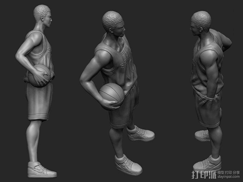 《灌篮高手》——樱木花道 3D模型  图4