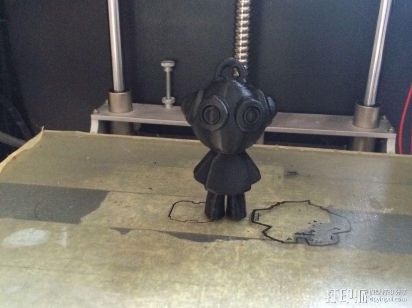 3D打印小玩偶 3D模型  图1