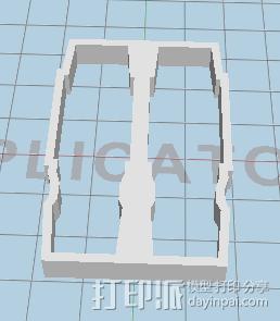 夹耦合器 3D模型  图1