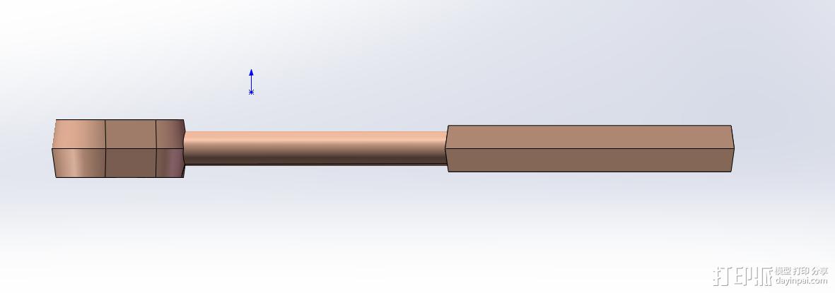 手柄 3D模型  图3