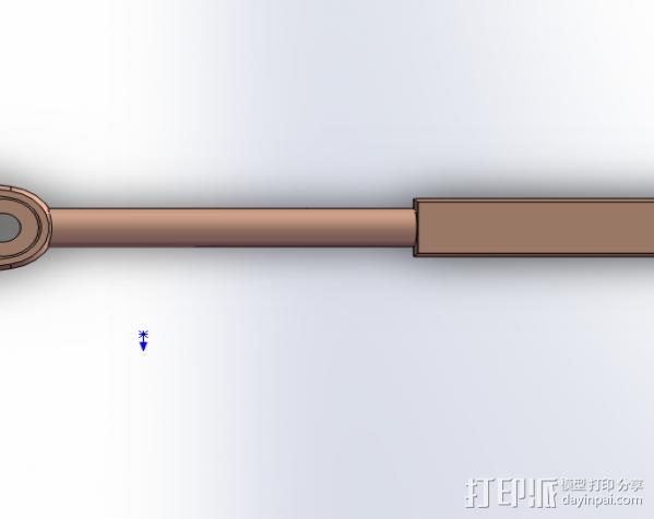 手柄 3D模型  图2