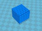 十四面体多胞结构 3D模型 图1