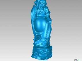 八仙-汉钟离 3D模型