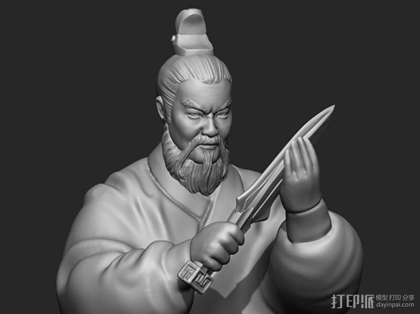 三国演义之曹操献刀——曹操 3D模型  图4
