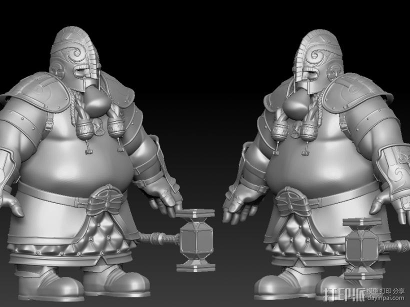 战士 3D模型  图2
