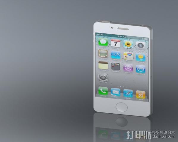 iphone4手机模型 3D模型  图2