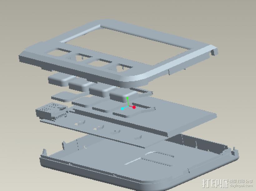U盾 3D模型  图1