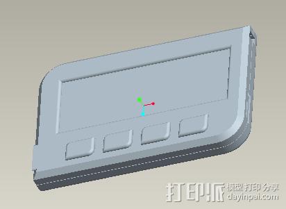 U盾 3D模型  图2