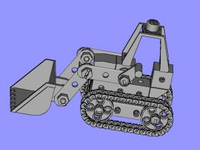 挖机 3D模型