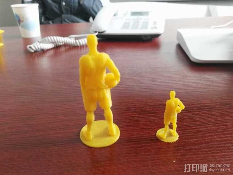 《灌篮高手》——樱木花道 3D打印制作  图3