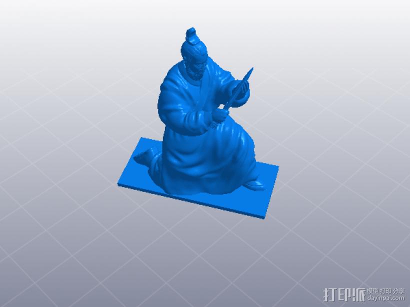 三国演义之曹操献刀——曹操 3D模型  图7
