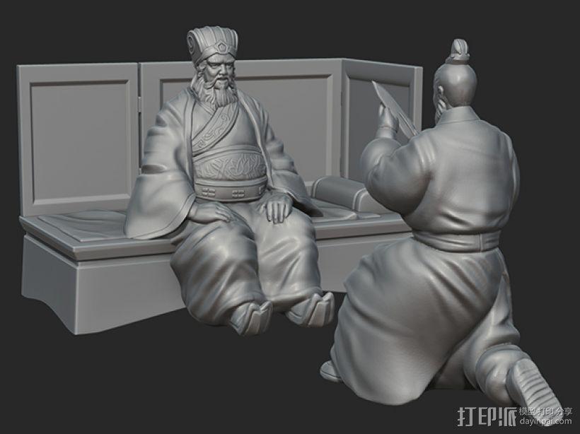 三国演义之曹操献刀——董卓 3D模型  图5