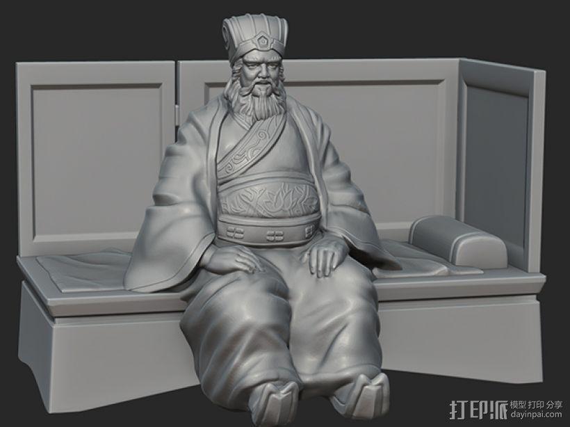 三国演义之曹操献刀——董卓 3D模型  图1
