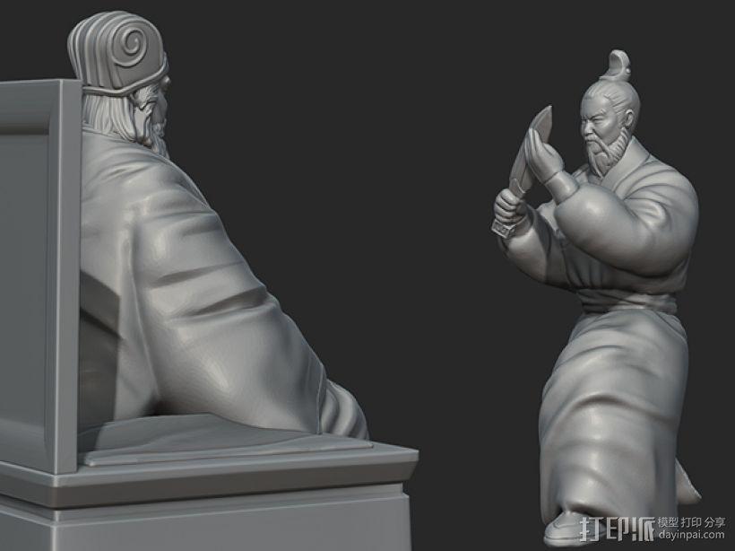三国演义之曹操献刀——董卓 3D模型  图6