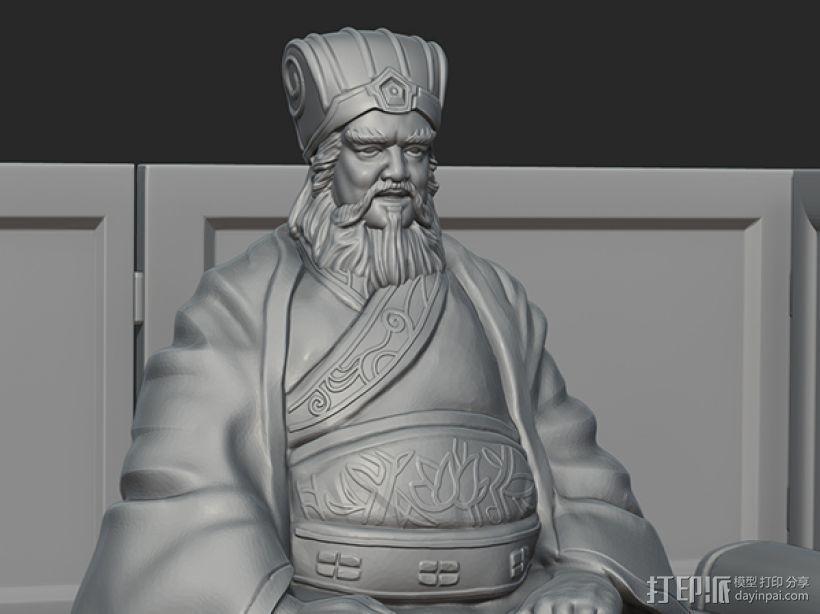 三国演义之曹操献刀——董卓 3D模型  图3