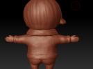 忧忧 3D模型 图2