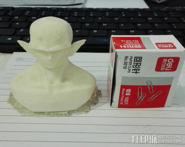 2年前打的短笛大魔王 3D模型  图1