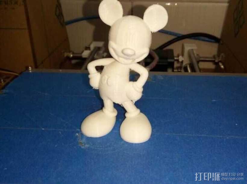 米老鼠 3D打印制作  图2