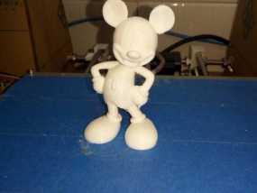 米老鼠 3D打印制作