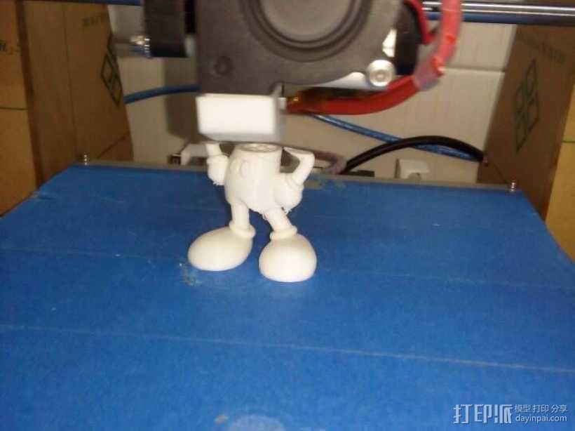 米老鼠 3D打印制作  图1