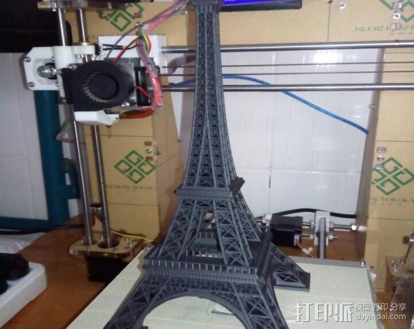 埃菲尔铁塔 3D打印制作  图2